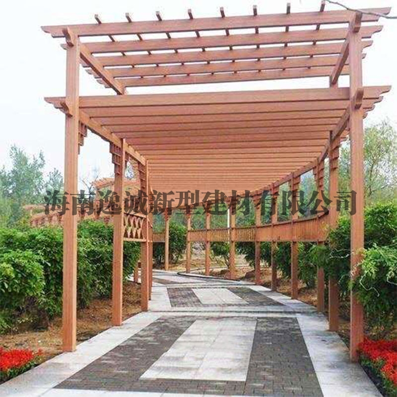 海南木塑廊架