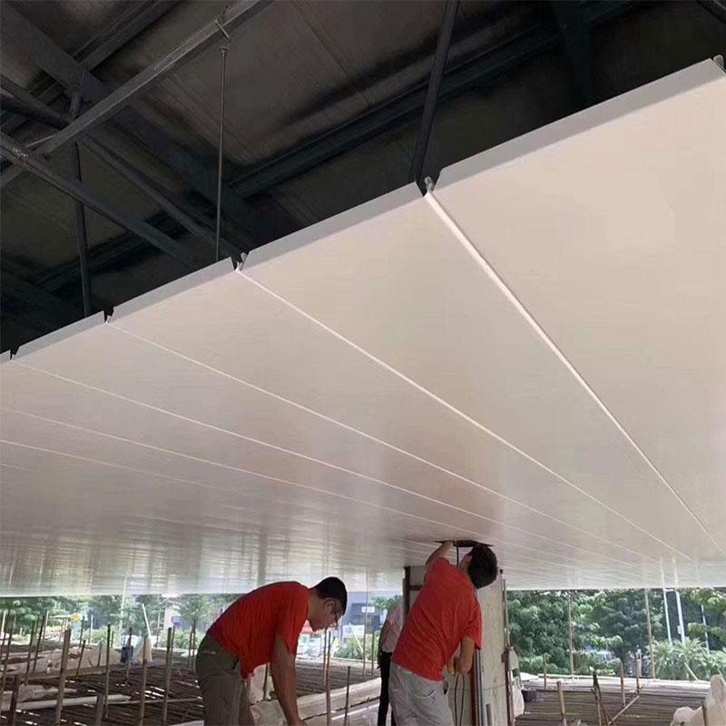 海南铝单板安装