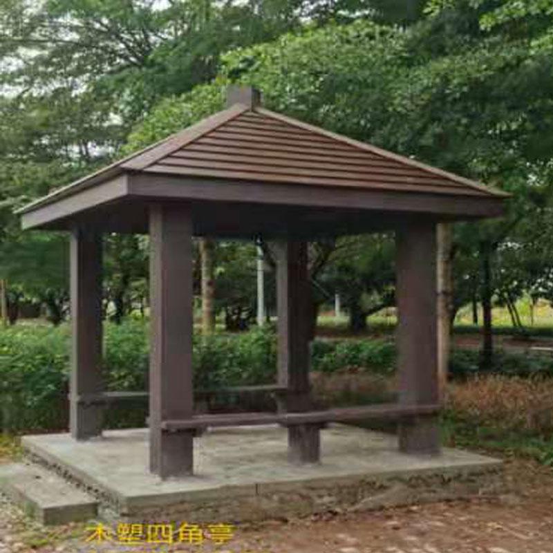 海南木塑凉亭